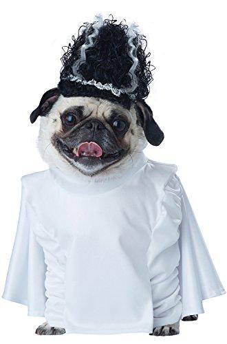 California Costume Collections Bride of Franken Pup Dog Costume, (Bride Pet Costumes)