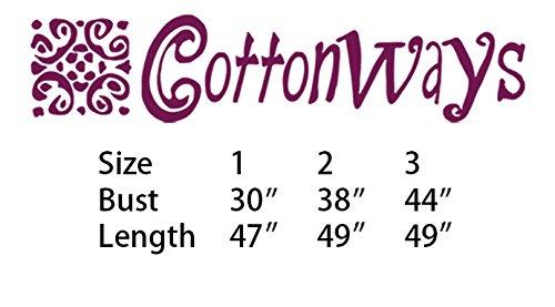Cotton Cottonways Dress Rosette Gauze Women's Black 44pq5f