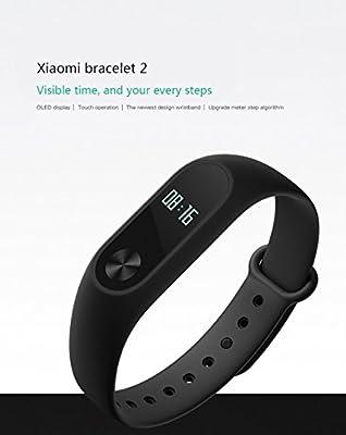 Xiaomi Mi Band 2, Ollivan Wristband Bracelet With OLED Display Smart Heart Rate Monitor Fitness Tracker Watch Bluetooth 4.0 Pedometer IP67 Waterproof