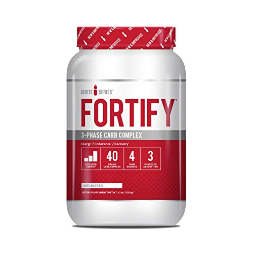Complete Nutrition Ignite Series Fortify 3-Phase Carb Complex, Unflavored, Increased Energy, Endurance Support, 42 oz Tub (30 Servings) (Best Complex Carbs For Energy)