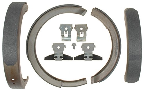 ACDelco 14781B Advantage Bonded Rear Parking Brake Shoe with Hardware ()