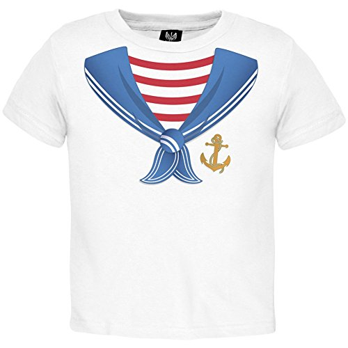 Old Glory Sailor Costume Toddler T-Shirt -