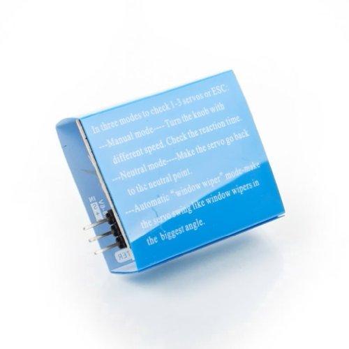 Sonline Servo Tester CCPM padrone di consistenza Checker 3CH 4.8-6V