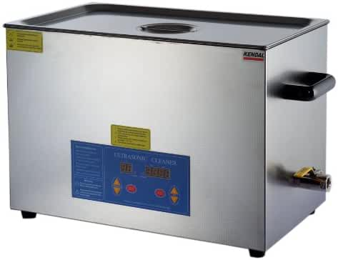 Kendal Commercial grade 780 watts 5.55 gallon heated ultrasonic cleaner HB821