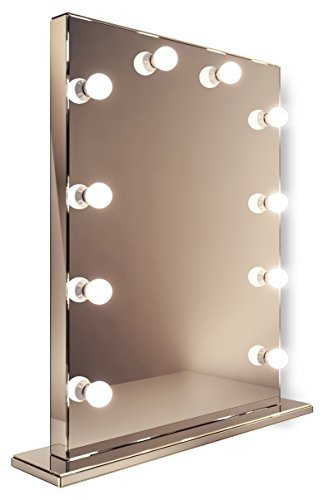 Mirror Finish Hollywood Makeup Dressing Room Mirror with Dimmable lamps k252