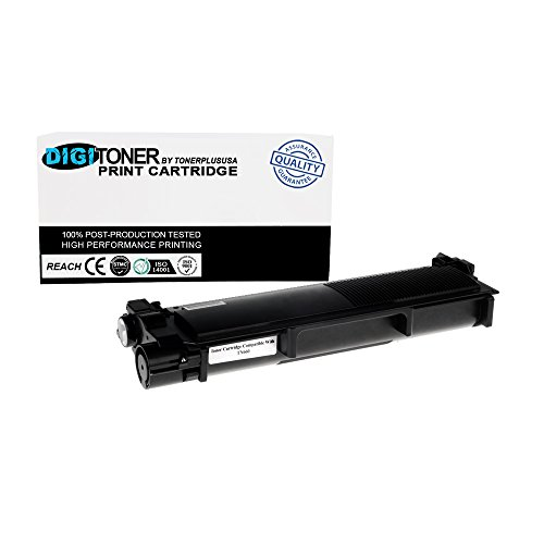 DigiToner New Compatible Brother TN660 TN630 High Yield Black Toner Cartridge Replacement for Brother 2700DW HL l2380DW (Black, 1 Pack)