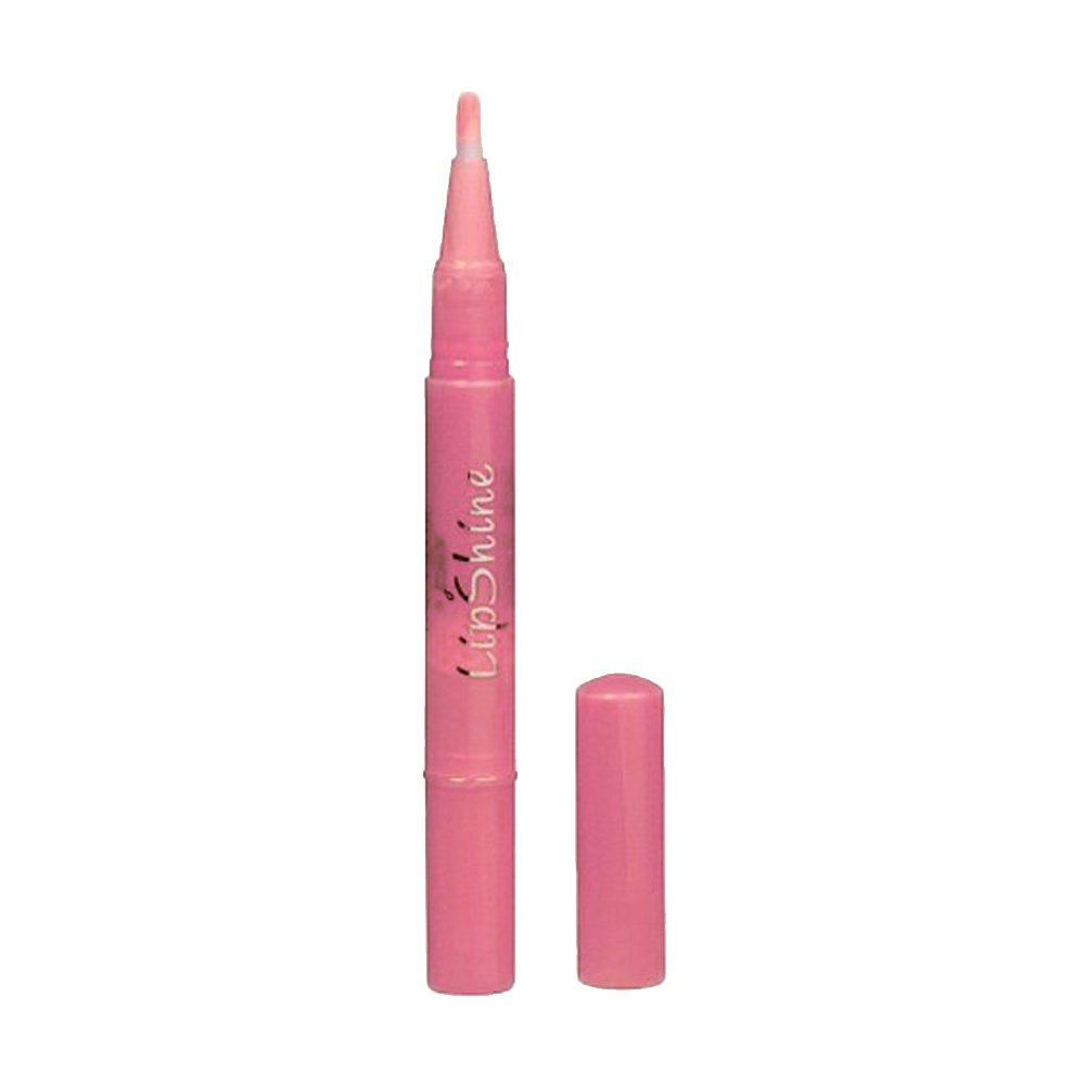 (3 Pack) JORDANA Incolor LipShine Glaze Brush On Gloss Strawberry