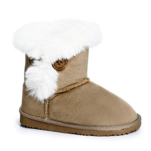 Super Cute Trary Snow Boots for Girls Now $11.55 (Was $32.99)