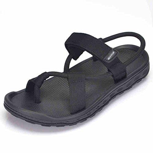 Sandals MAZHONG Men's Men's Beach Shoes Summer Outdoor Summer Men's Slippers Dual Trendy Shoes (Color : Black-EU37/UK4.5-5/CN37) Black-eu38/Uk5.5/Cn38