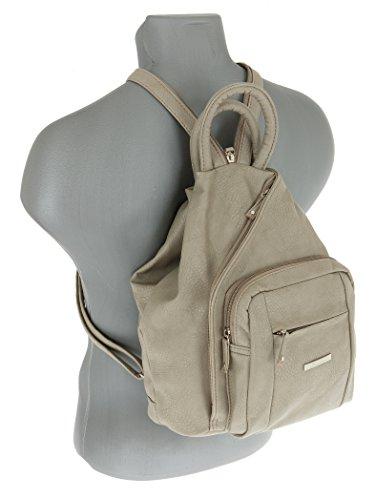 Schlü Backpack Bag Beige SSelm 6 TIRANO 6 TIRANO Femme alessandro Beige Case Women's Beige Bag Handbag 5036 xvYwqIX
