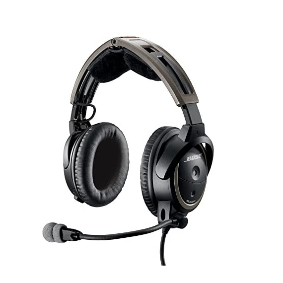 Bose A20 Aviation Headset Plug Cable 2 30% greater active noise reduction than conventional aviation headsets. Connectivity Technology: Wired 30% less clamping force than conventional aviation headsets Clear audio with active equalization