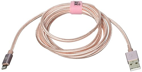 LAX Gadgets Apple MFi Light Cable, Rose Gold, 6 Feet by LAX Gadgets