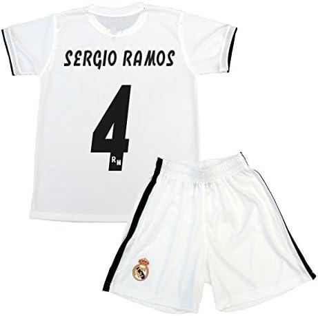 Box 1º Equipo Sergio Ramos Real Madrid JR 2018-2019 Conjunto Niño (T/8): Amazon.es: Deportes y aire libre