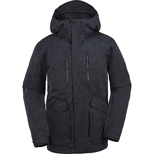 Volcom Pat Moore Insulated 3-In-1 Hooded Jacket - Men's Black, L