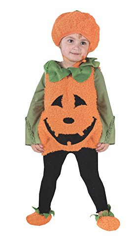 Pumpkin Cutie Pie Vest Costume - Toddler Small