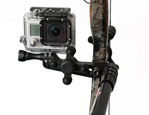 ZX5 BOW CAMERA MOUNT FOR GoPro + BOWJAX (Best Camera For Bow Hunting)