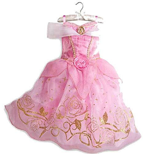 Princess Dresses Rapunzel Aurora Kids Party Halloween Costume