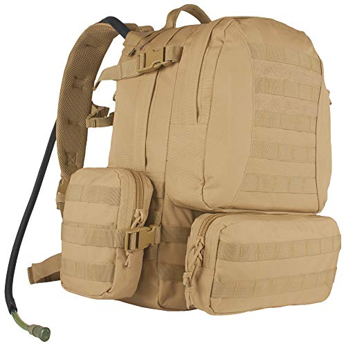 Fox Outdoor Products Advanced Hydro Assault Pack, Coyote