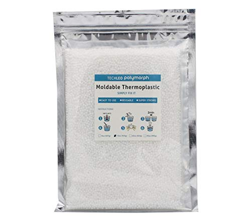 TechLeo Thermoplastic pellets Instant moldable plastic 15 OZ by TechLeo (Image #5)
