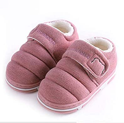 tunez Baby Shoes Infant Kids Warm Winter Cotton Anti Slip Sole Soft Shoes 1-3 Years Old Indoor