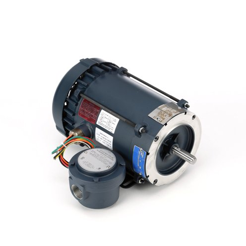 Leeson Electric 116606.00 Explosion Proof/Hazardous Location Motor - 1 ph, 0.33 hp, 1800 rpm, 115/208-230 V, 56C Frame, Explosion Proof Fan Cooled Enclosure, 60 - Hazardous Motor Location