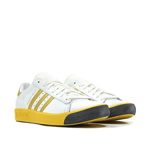 Adidas Bos Hillls Mens In Wit / Goud Door Wit / Goud