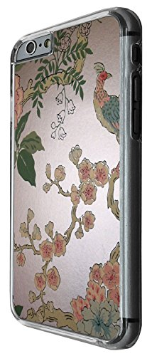 1338 - Cool Fun Trendy cute kwaii japanese chinese art bird wallpaper art Design iphone 5 5S Coque Fashion Trend Case Coque Protection Cover plastique et métal - Clear