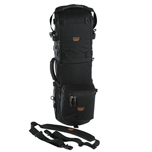 Kinesis L611 Super Tall Compact Long Lens Case 600 (w/ body pouch & shoulder strap) by Kinesis Photo Gear
