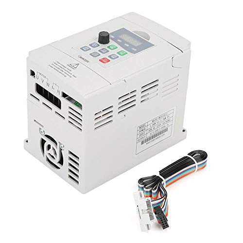 1.5kW General Frequency Inverter Converter Vector Type Single Phase AC 200-240V by Wal front (Image #9)