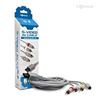 Tomee S-Video AV Cable for Wii U/Wii