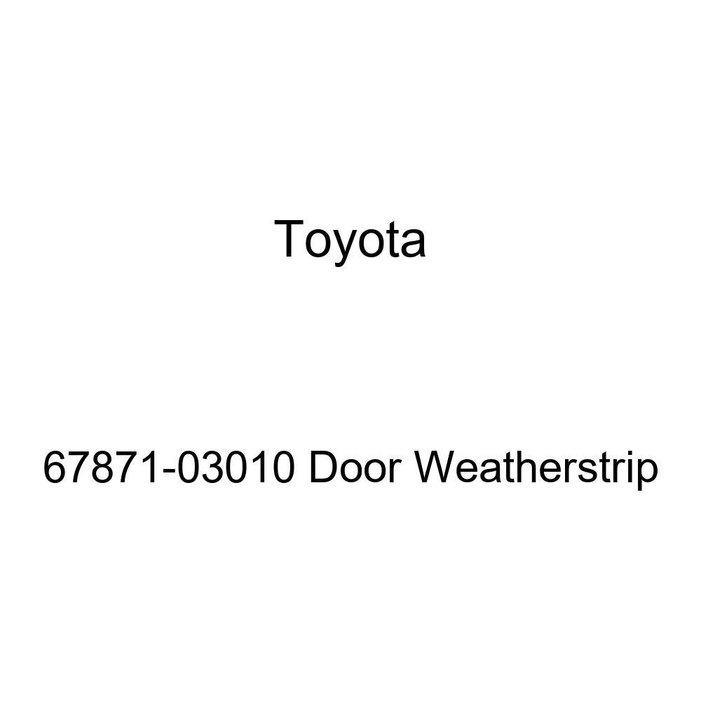 TOYOTA Genuine 67871-03010 Door Weatherstrip