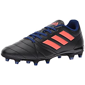 adidas Performance Women's Ace 17.4 FG W Soccer Shoe, Black/Easy Coral/Mystery Ink, 8 Medium US