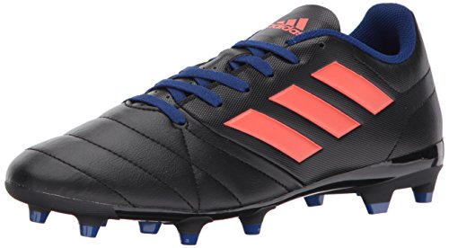 adidas Women's ACE 17.4 FG W Soccer Shoe, Black/Easy Coral/Mystery Ink, 8 Medium US (Best Myst Like Games)