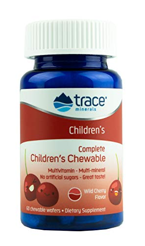 Trace Minerals, Complete Childrens Chewable, 60 Tablets -