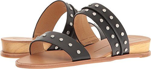 Dolce Vita Women's Pacey Flat Sandal, Black Stella, 8.5 M US