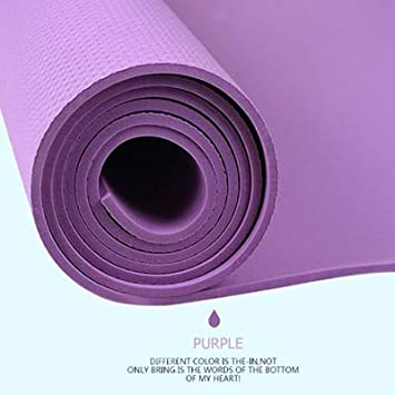 Ollt Eco Friendly Yoga Mat 4mm Antideslizante Fitness Sports ...