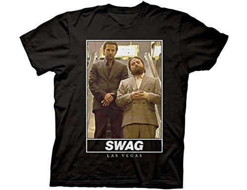Ripple Junction The Hangover Swag Las Vegas Adult T-Shirt Small Black