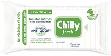 Chilly Toallitas - Paquete Toallitas Chilly Gel, pack de 6: Amazon.es: Salud y cuidado personal