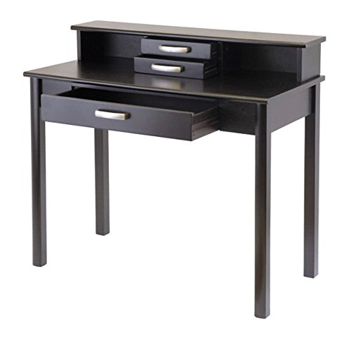 Liso Writing Desk with Hutch