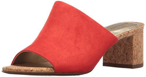 Bandolino Mujeres Spars Slide Sandal Persimmon / Cork