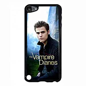 Funny Vampire Diaries Ipod Touch 5th Case,Vampire Diaries Funda Black Hard Plastic Case Cover For Ipod Touch 5th