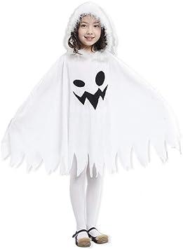 Westeng Capa de Halloween para Niño Fantasma Capa con Capucha ...