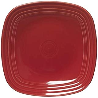 product image for Fiesta 10-3/4-Inch Square Dinner Plate, Paprika