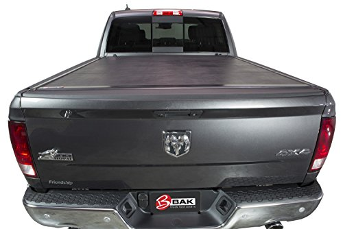 Bak Industries 162207RB BAKFlip VP Vinyl Series Hard Folding Truck Bed Cover Matte Finish With RamBox System [Available While Supplies Last] BAKFlip VP Vinyl Series Hard Folding Truck Bed Cover