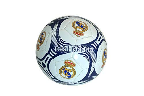 (Real Madrid C.F. Authentic Official Licensed Soccer Ball Size 3 -002)