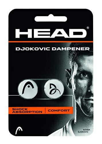 HEAD Djokovic Tennis Racket Vibration Dampener - Racquet String Shock Absorber (Best Tennis Racquet Dampener)