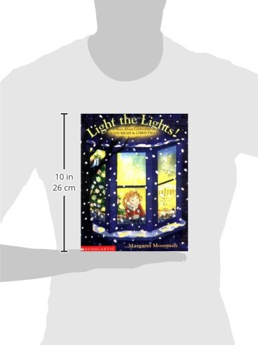 Light The Lights! A Story About Celebrating Hanukkah And Christmas by Cartwheel (Image #2)
