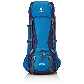 Deuter Aircontact 60+10 SL Backpack - Ocean/Midnight