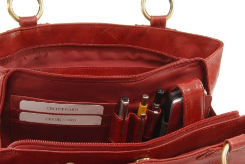 Rouge signé Sac Bellstone Collection Catwalk Grand qw7R1U6
