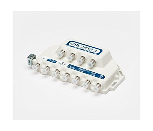 PPC Evolution 9 Way Digital Coaxial Splitter with Dedicated Voice Port by C.P. Company